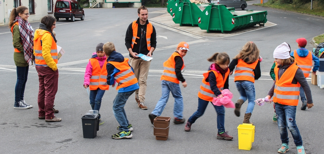 Besuch Mülldeponie Kleincotta