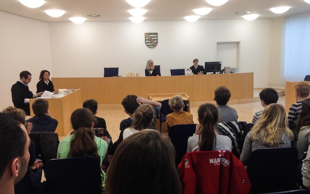 Besuch beim Amtsgericht Pirna