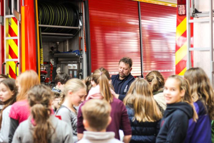 Besuch bei der Feuerwehr Altstadt