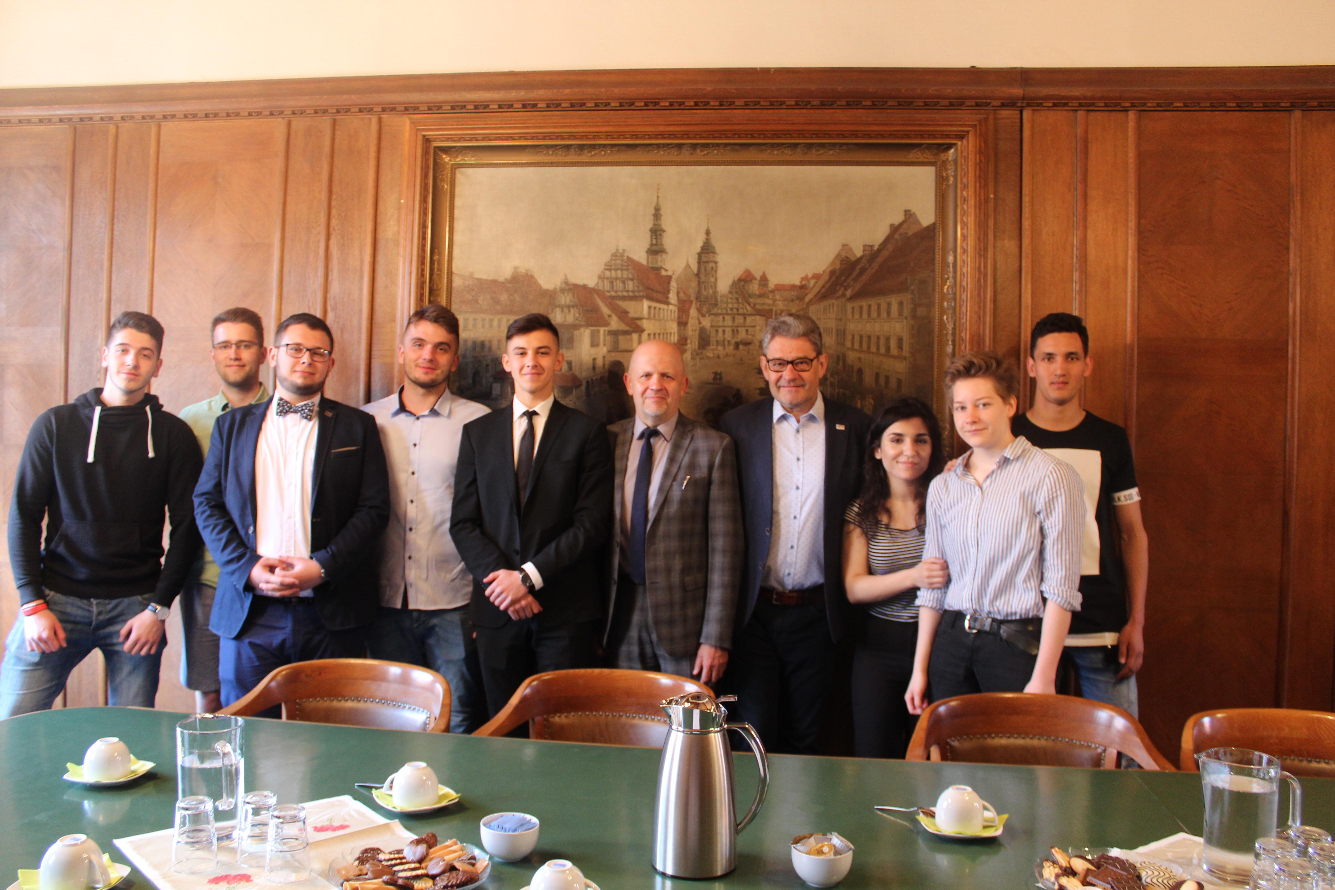 Internationales Treffen mit dem polnischen Youth Council