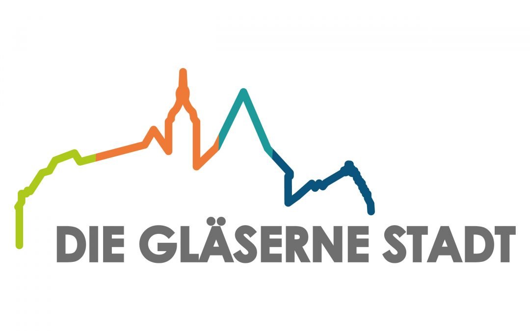 die gläserne stadt logo