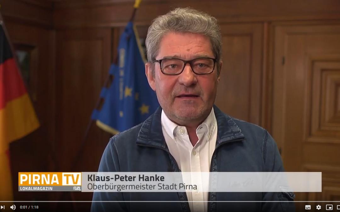 Zweites Interview mit Pirnas Oberbürgermeister