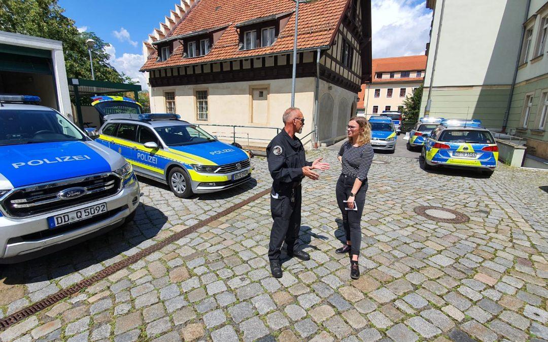 Neuer Kurzfilm: Die gläserne Stadt bei der Polizei