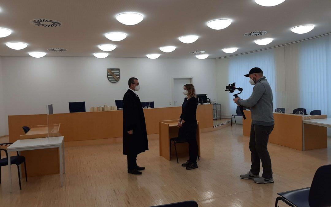 """Neuer Kurzfilm: """"Die gläserne Stadt"""" beim Amtsgericht"""