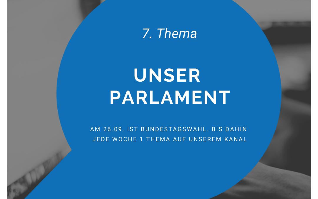 Der Bundestag, unser Parlament